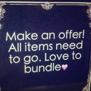 Other - I love to bundle items so you can save on shipping